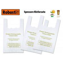 Sakge - Shopper Robusti biodegradabili compostabili