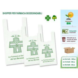 Sakge - Buste shopper Farmacia compostabili biodegradabili