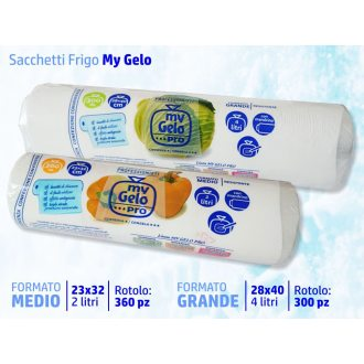 Sakge - Sacchetti gelo freezer - Buste congelatore frigo