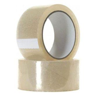Sakge - 6 rotoli Nastro Adesivo di PVC Trasparente