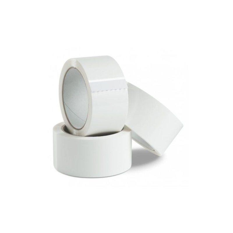 Sakge - 6 rotoli Nastro Adesivo di PVC Bianco