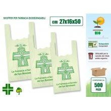 Sakge - Shopper Farmacia compostabili biodegradabili