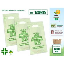 Sakge - Buste Farmacia compostabili biodegradabili