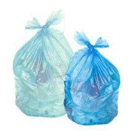 Sacchi in plastica per rifiuti