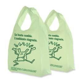 Borse spesa biodegradabili compostabili